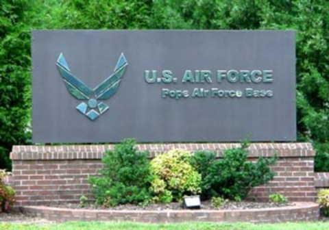 pope-afb-sign
